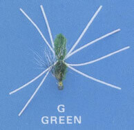 Ligon Bream Killer Fly - Green