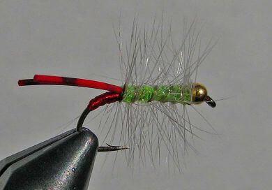 Wilson's Bluegill Bugger - Chartreuse