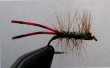 Wilson's Bluegill Bugger - Peacock