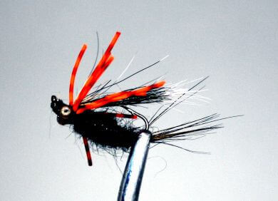 Upside Down Bream Killer - black and orange