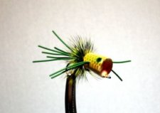 Walt's Bluegill and Bass Popper #77