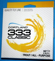 333 Classic fly line WF7F