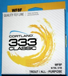 333 Classic fly line WF8F