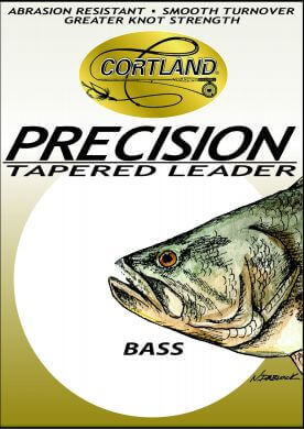 Precision Tapered Bass Leaders 6 ft 15# test