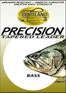 Precision Tapered Bass Leaders 6 ft 8# test