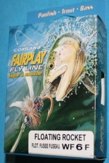 Cortland Fairplay Fly Line Floating Rocket WF6F 28 yards