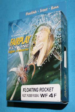 Cortland Fairplay Fly Line Floating Rocket WF4F 28 yards