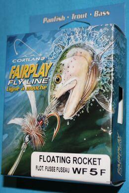 Cortland Fairplay Fly Line Floating Rocket WF5F 28 yards