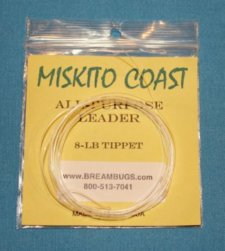 Miskito Coast Popper Leader  8 pound test