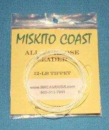 Miskito Coast Popper Leader 12 pound test