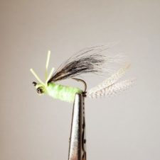 Fraziers Upside Down Bream Killer Caddis Green