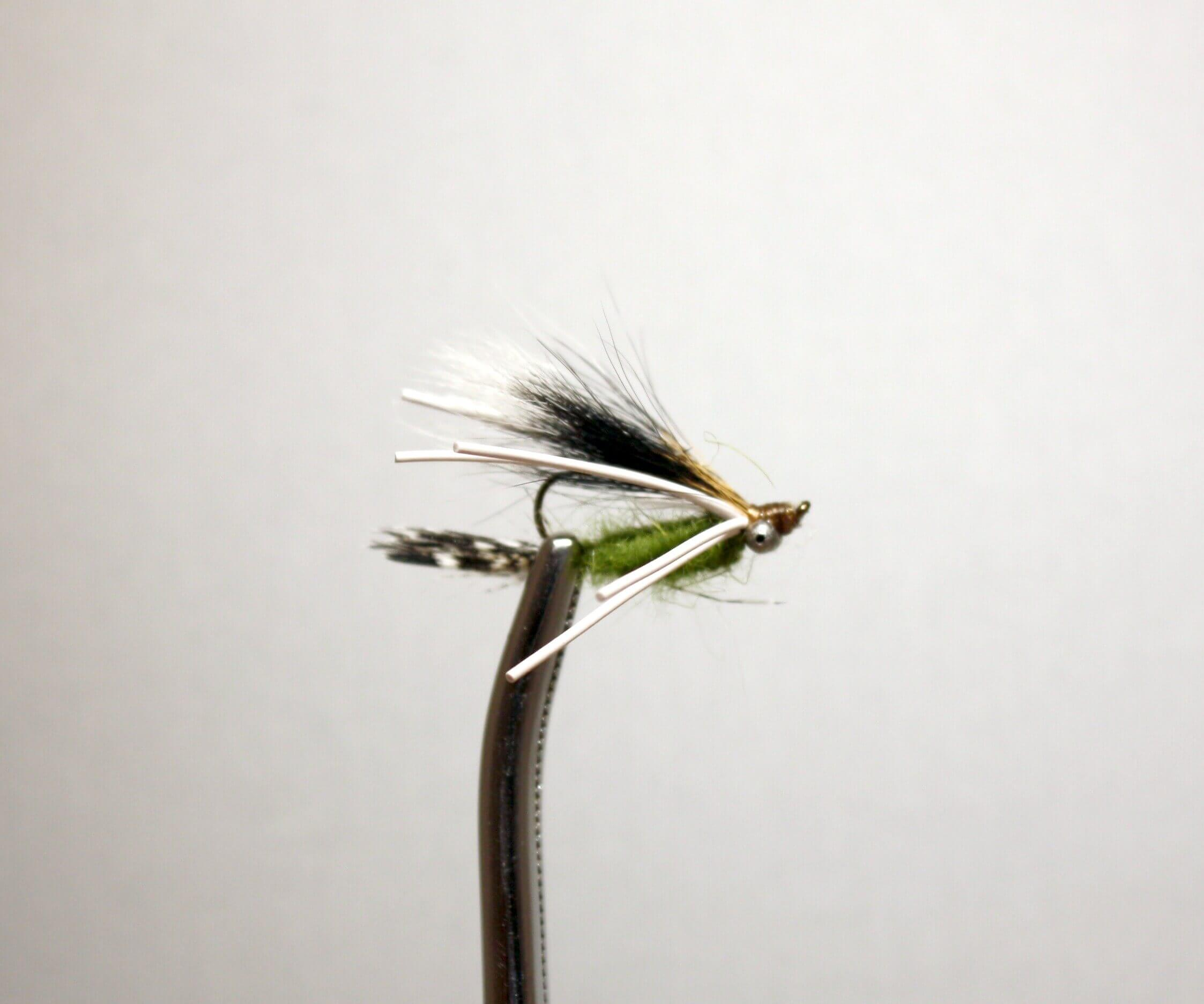 Caddis Green Upside Down Bream Killer