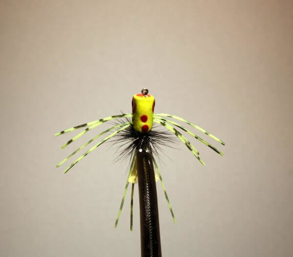 Spider Fishing Lure | Chartreuse Fishing Lure | Best Fly Fishing Flies