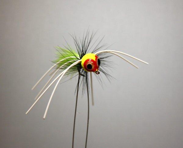 Rollie Pollie Bug, Chartreuse, Black, Chartreuse