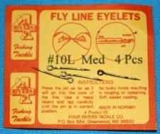 Fly Line Eyelets, # 10 L