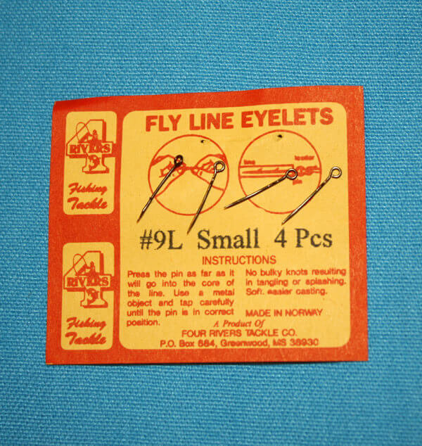 Fly Line Eyelet # 9 L Small
