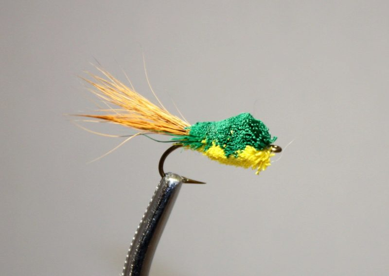 Mini Hair Frog-Green