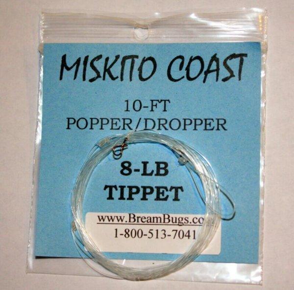 Popper Dropper Rig | Fly Fishing Dropper Rig | Miskito Coast Rig