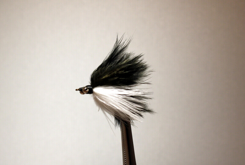 Marabou Skunk with short streamers (1 1/2 inches)