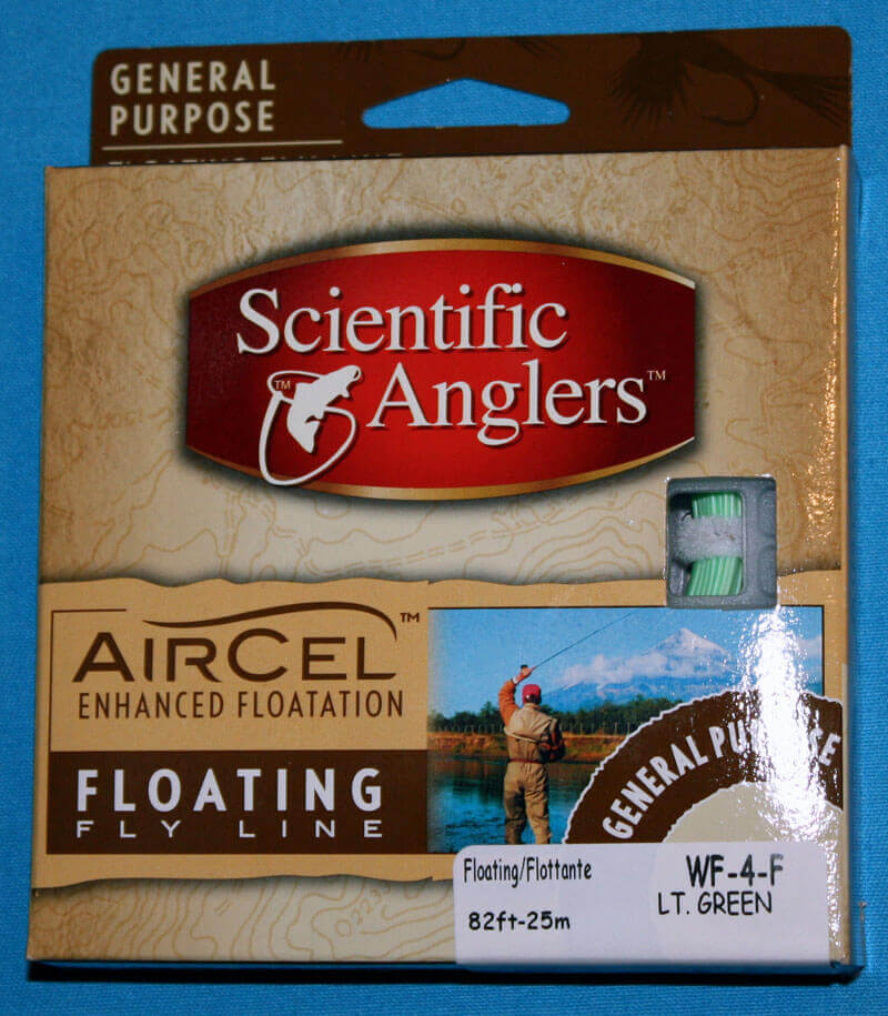 Air Cel General Purpose Floating Fly Line W-F-4F