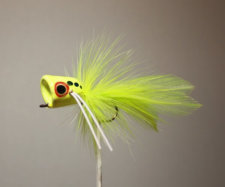 Peck's Chartreuse Popper by Pultz #7017