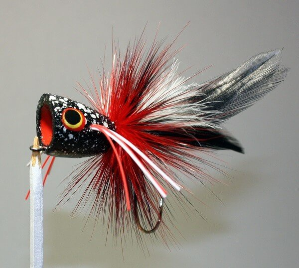 Baby Red-Winged Blackbird Fly Fishing Popper