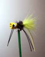 Dixie Pop Yellow, Black, Chartreuse for Bream