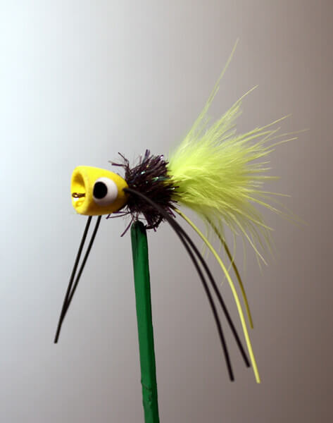 Bass Poppers and Flies From BreamBugs