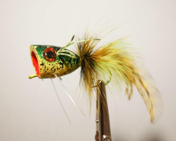 Pultz Camo Frog Regular Hook