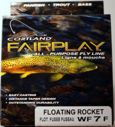 Cortland Fairplay Fly Line Floating Rocket WF7F