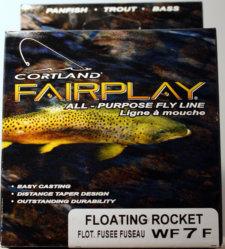 Cortland Fairplay Fly Line Floating Rocket WF7F
