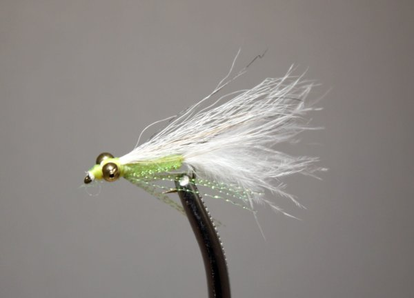 Crappie Candy Chartreuse and White