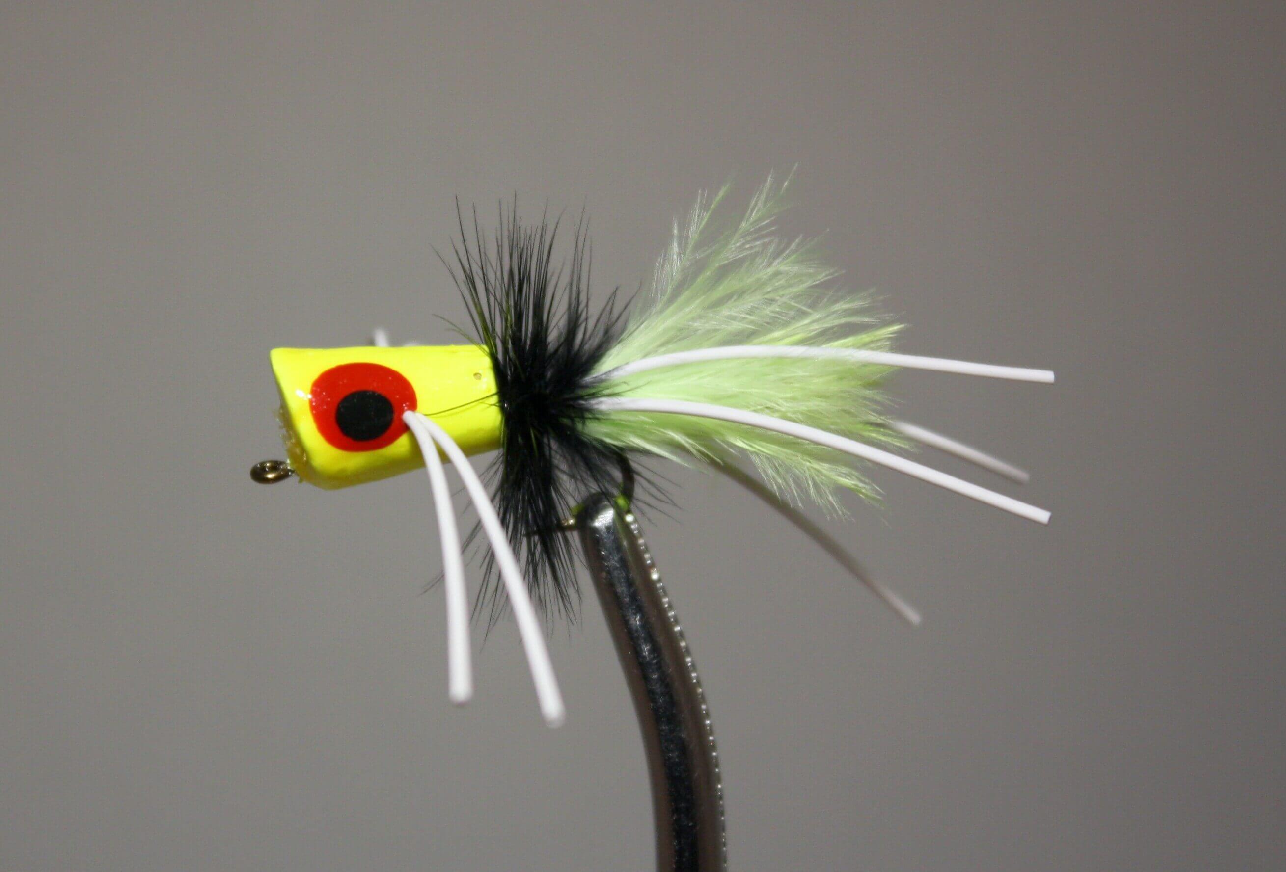 Pultz Bluegill Special Chartreuse, Black, Chartreuse