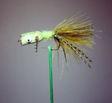 Mad Scientist Fly Olive and Tan
