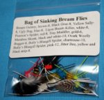 Bag of Sinking Bream Flies