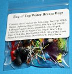 Bag of Top Water Bream Bugs