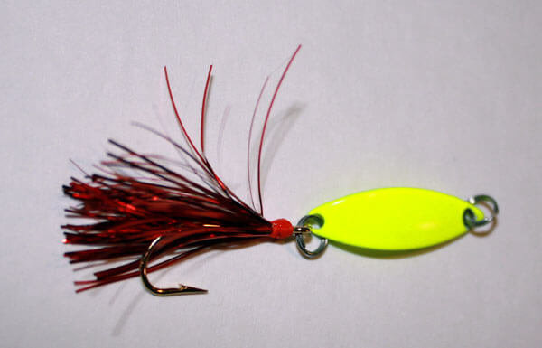 Chartreuse and Red Spoon
