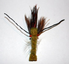 Snapping Craw Crayfish Fly for Bass