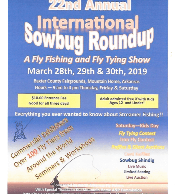 North Arkansas Fly Fishers 22nd Annual Sowbug Roundup