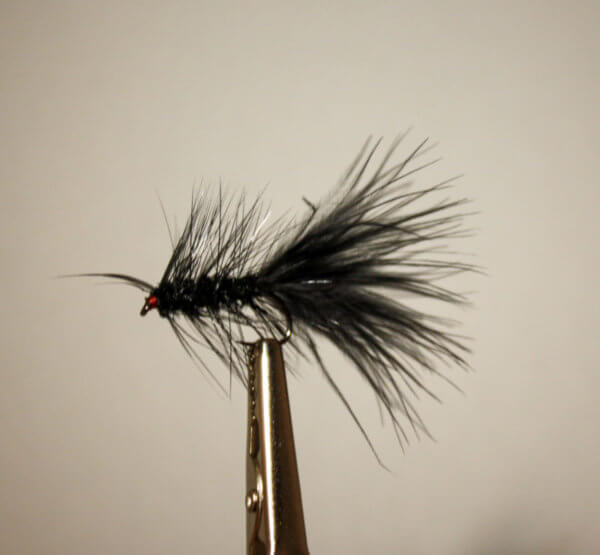 Black Wooly Bugger (weighted)